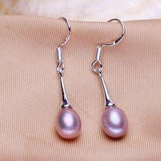 wholesale 2017 new women fashion jewelry Hot Sale Freshwater Pearl Earrings Luxury bride Wedding Jewelry elegant pearl earrings