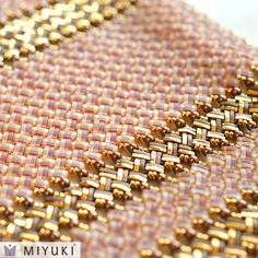 MIYUKI has launched a new shape of beads called Quarter TILA Beads.