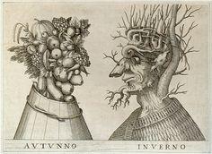 Allegorical artist | Tutt'Art@ | Pittura * Scultura * Poesia * Musica | drawing by GIUSEPPE ARCIMBALDO 17 th century Italian