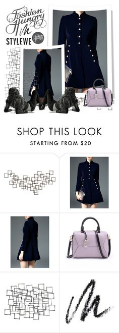"""""""Stylewe I/8."""" by adelisamujkic ❤ liked on Polyvore featuring Crate and Barrel, Arteriors, Benefit, dress, bag and stylewe"""