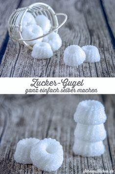 DIY Zucker-Gugel - Würfelzucker als kleinen Gugelhupf ganz einfach selber machen, lecker auch mit Vanille und Zimt, ein tolles Geschenk aus der Küche oder für die Kaffeetafel - www.schninskitchen.de
