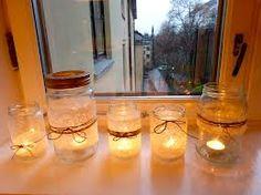 bryllups borddekorasjoner - Google-søk Mason Jar Lamp, Table Lamp, Table Decorations, Google, Dreams, Design, Lily, Table Lamps, Design Comics