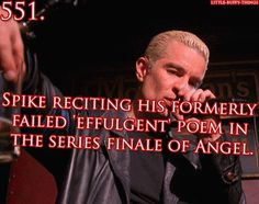 Probably more an Angel pin, but the poem first showed up in Buffy.