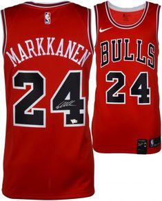 498544de0ef Michael Jordan Chicago Bulls Autographed 1997-98 Mitchell   Ness Red ...