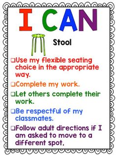Flexible Seating - Affordable Ideas and Freebies