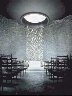 architectureofdoom: larameeee: Kresge Chapel at MIT Eero Saarinen View this on the map