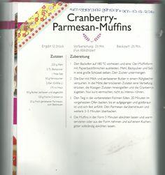 Cranberry-Parmesan-Muffins