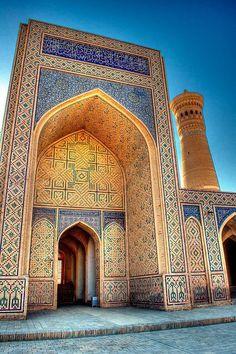 Masjid in Bukhara, Uzbekistan