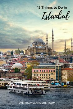 From climbing medieval stone towers to stepping inside one of the world's largest cathedrals, from sailing between two continents to sipping Turkish tea, there are many things to do in Istanbul, Turkey. Reise Hacks 13 Things to Do in Istanbul, Turkey Pamukkale, Places To Travel, Travel Destinations, Places To Visit, Europe Travel Guide, Asia Travel, Cave House, Red Tour, Istanbul Travel