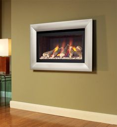 Flavel Jazz hole in the wall gas fire Direct Fireplaces - Fireplaces, Fire Surrounds, Gas Fires and Electric Fires.