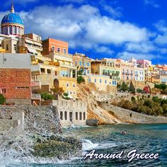 The island of Syros is the capital of the Cyclades and is a very popular island for holidaymakers from all around the world.  https://ift.tt/2F2K8Gg  #Syros #Greece #Greekislands #Cyclades #aroundgreece #visitgreece #Συρος #Ελλαδα #ΕλληνικαΝησια #διακοπες #ταξιδια