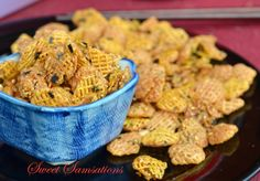 Very easy Japanese style Crispix Chex Mix!