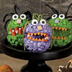Recipe For Popcorn Ball Monsters