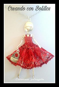 Bobbin Lace Patterns, Ballerina, Necklaces, Doll, Christmas Ornaments, Holiday Decor, Modern, Lace, Stud Earrings