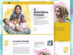 PAI - Annual Report 2015 by Forefathers on Dribbble A Relentless Pursuit. PAI is a global organization that works to improve reproductive health services for women across the globe and are helping to gain what should be basic rights for women every. Annual Report Layout, Annual Report Covers, Annual Reports, Web Design, Graphic Design, Brand Design, Charity Websites, Nonprofit Annual Report, Charity Branding