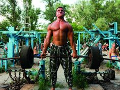 The ultimate outdoor workout