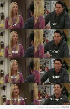 Phoebe n joey. Friends