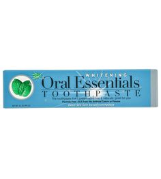 Our Teeth Whitening Toothpaste whitens teeth without sensitivity. It contains No Hydrogen Peroxide, Baking Soda, Preservatives, SLS, or Artificial Flavors.