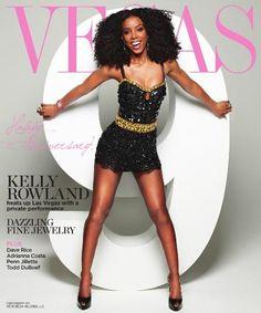 Kelly Rowland for VEGAS Magazine