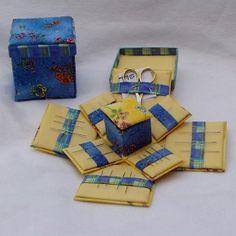 (09)  FIN 5-4 Mini Four Sided Needle Box