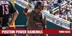 If we were building a team to win the 2020 national title, which players would we choose? We use the same philosophy to construct our Position Power Rankings — think of them as an extension of our Preseason All-America Teams. Baseball Tips, Baseball Cards, Third Base, Baseball Equipment, A Team, Philosophy, Coaching, Youth, Positivity