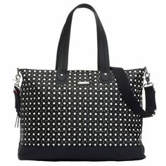 *New* Black & White Storksak Diamond Tote Diaper Bag - Motherhood Closet…