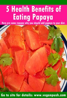 The effect of papaya extract in