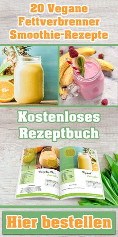 20 Fettverbrenner Smoothies Request a free smoothie recipe book. With 20 vegan fat burner recipes. Smoothie Drinks, Fruit Smoothies, Smoothie Recipes, Fat Burner Smoothie, Healthy Dessert Recipes, Vegan Recipes, Healthy Meals Delivered, Chocolate Chip Banana Bread, Banana Bread Recipes