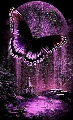 Blue Sunday, Purple Art, Galaxy Design, Galaxy Art, Lavender Fields, Love Images, Butterfly, Art Prints, Outdoor