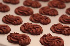 Čokoladno-pomarančni brizgani piškoti | NaredilaAna