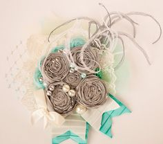 Cloud Nine boutique hair clip by Mckenzie by McKenzieGraceDesigns, $19.99