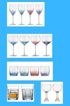 Bar Drinks Bohemia Crystal Cut Glass Sherry Port Glasses Set Of 4 Retro