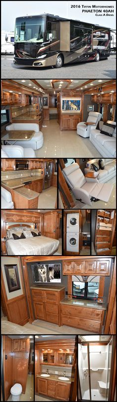 America's favorite motorhome, 2016 Tiffin Motorhomes PHAETON 40AH Class A Diesel is consistently ranked among the best-selling Class A models on the market. The Phaeton envelops you in beauty, luxury, and craftsmanship – all at a competitive price point.