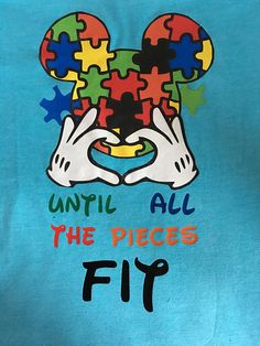 Do you have Autism, do you know someone with Autism, or do you just want to spread Awareness? If you said YES to any of that then this shirt is just for you !!!     Availiable in: T-shirts as well as Tanks