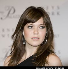 "Mandy Moore. She has a beautiful voice, and my all-time favorite song is ""Only Hope"", the song she sings on ""A Walk to Remember"", which is my favorite movie. <3"