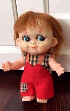 Vintage Vinyl/Rubber Doll Made in Japan by Lalecreations on Etsy