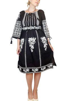 Rochie traditionala cu broderie Isabela #rochie #traditional #instafashion #ietraditionala