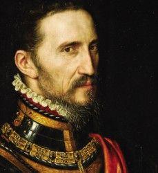 """Fernando Álvarez de Toledo y Pimentel """"El Duque de Hierro"""". III Duque de Alba, Gobernador de los Países Bajos y Virrey de Nápoles. - Antonio Moro."""