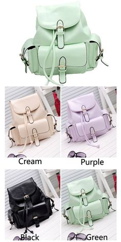 I like the green . Which color do you like? #Casual #College #Mint #Green #Backpack #bag #school #rucksack