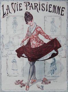 1917 La Vie Parisienne / eBay