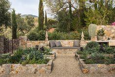 Outdoor Rooms, Outdoor Gardens, Outdoor Living, Outdoor Decor, Outdoor Furniture Sets, Mediterranean Garden Design, Tuscan Garden, Garden Structures, Dream Garden