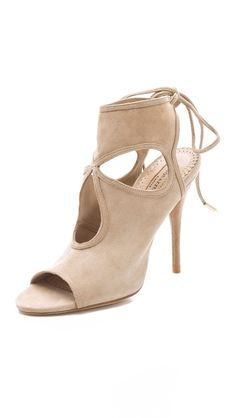 Save 25% off at Shopbop during their Friends & Family Event. Cutout Suede Booties from Aquazzura