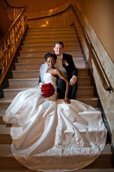Peabody Opera House Wedding (Grand Lobby) Photo Courtesy of Mirage Photo