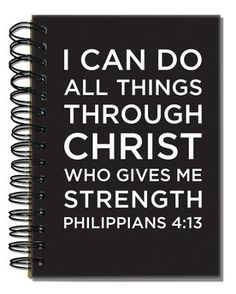 Phil 4:13 Journal