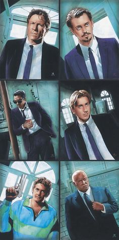 Reservoir Dogs Portraits