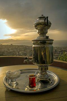turkuazimtrak:  Samovar tea