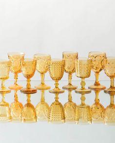 Amber glass from Casa de Perrin.