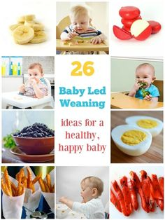 Baby led weaning can be such fun and a great way for your baby to experiment with the textures and flavours of food. It's a much simpler way of feeding your weaning baby than making up purees for spoon feeding and lets your baby be independent.
