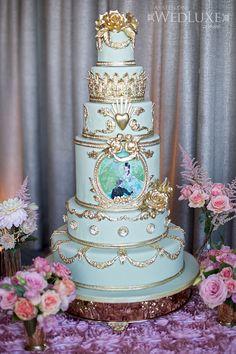 Lauren & Andre wedding cake.
