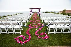 Wedding Aisle Runner of Flowers